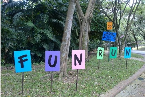 Fun Run Signs
