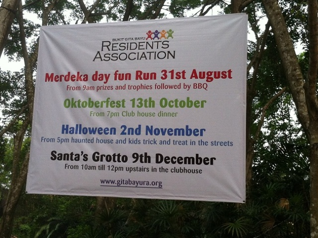 2012 Residents Association Events
