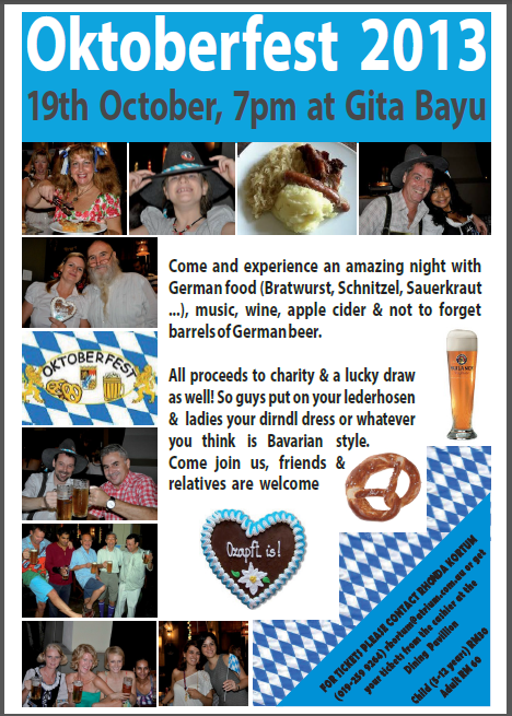 Gita Bayu Oktoberfest 2013
